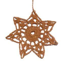 Zestaw 3szt. gwiazdek świątecznych