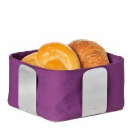 Bawełniany wkład do koszyka na pieczywo 25,5 cm Blomus Desa fioletowy
