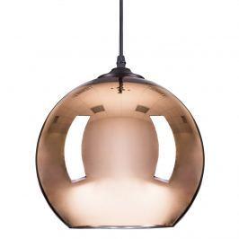 Lampa wisząca 25cm Step into design Mirror Glow miedziana