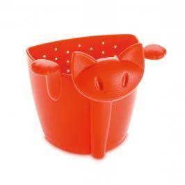 Zaparzaczka do herbaty kotek Koziol Mimmi pomarańczowo-czerwona