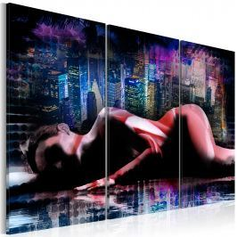 Obraz - Intimacy in the big city (60x40 cm)