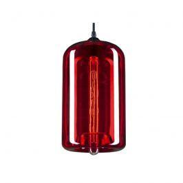 Lampa wisząca 19x35cm Altavola Design London Loft 4 czerwona