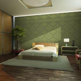Fototapeta - Zielony barok (450x270 cm)