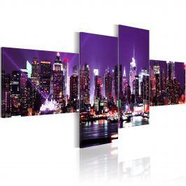 Obraz - NY - miasto, które nigdy nie zasypia (100x45 cm)