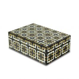 Szklana szkatułka na biżuterię 8,5x24x17cm Artehome Pandora