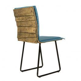 Krzesło na płozach Gie El Gont czarny/turkus