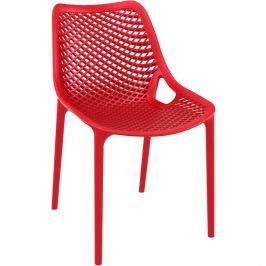Krzesło Grid czerwone