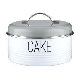 Pojemnik na ciasto 3,8l Typhoon Vintage Mayfair biało-szary