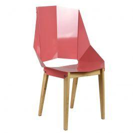 Krzesło stalowe 93 cm Gie El brudny róż