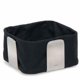 Bawełniany wkład do koszyka na pieczywo 25,5 cm Blomus Desa czarny