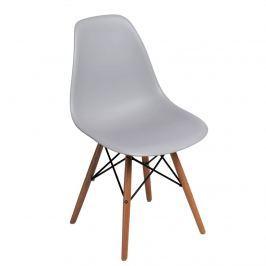 Krzesło P016W PP D2 light grey