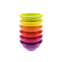 Zestaw 6 miseczek 8,5 cm Zak! Designs Rainbow multikolor