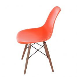 Krzesło P016W PP pomarańcz/dark