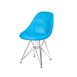 Krzesło King Bath DSR turkusowy