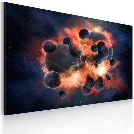Obraz - Kosmiczna eksplozja (60x40 cm)