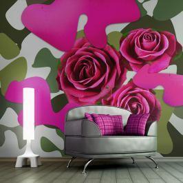 Fototapeta - Pink craziness (450x270 cm)