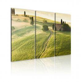 Obraz - Słońce nad Toskanią (60x40 cm)