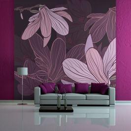 Fototapeta - Dreamy flowers (200x154 cm)