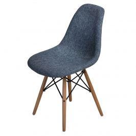 Krzesło P016W Duo D2 niebiesko-szare