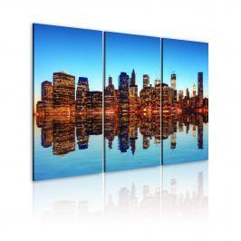 Obraz - Tysiące świateł - Nowy Jork (60x40 cm)