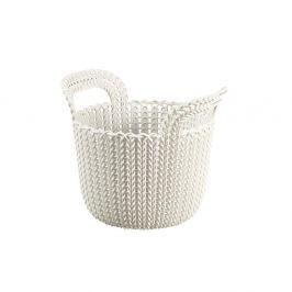 Koszyk 3 L Curver Knit kremowy