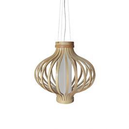 Drewniana lampa wisząca Barel 50cm King Home