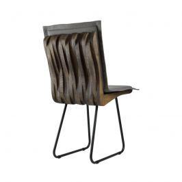 Krzesło 88 cm Gie El Organique ciemnobrązowe