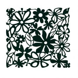 Panele dekoracyjne 4 szt. Koziol Alice czarne