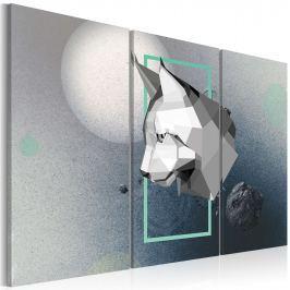 Obraz - zwierzę - 3D - tryptyk (60x40 cm)