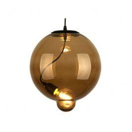 Lampa wisząca 30x30cm Altavola Design Modern Glass Bubble brązowa
