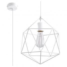 Lampa wisząca 100x25x25cm Sollux Lighting Gaspare biała