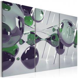 Obraz - Szklana mistyfikacja - tryptyk (60x40 cm)