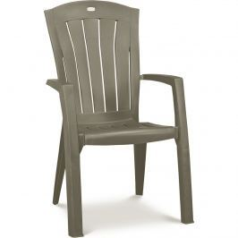 Krzesło ogrodowe Santorini Allibert 99x61cm cappuccino