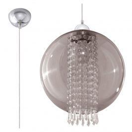 Lampa wisząca 30x30cm Sollux Lighting Camilla grafit