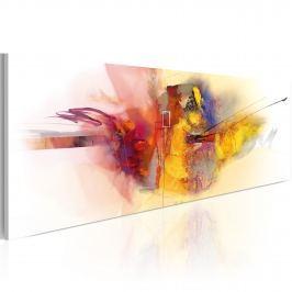 Obraz - Dragon's fire (120x40 cm)