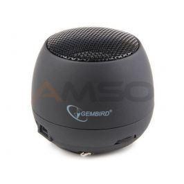 Głośnik Gembird portable z wbudowaną baterią black