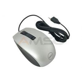MYSZ Laserowa DELL M-UAV-DEL8 USB Srebrna GW12Mies