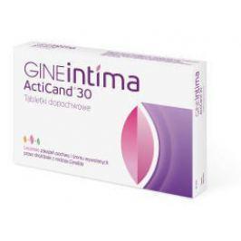 GINEINTIMA ACTICAND 30 x 8 tabletek dopochwowych