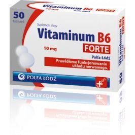 VITAMINUM B6 Forte 10mg x 50 tabletek