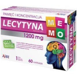 Lecytyna MEMO 1200mg x 60 kapsułek