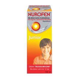 NUROFEN dla dzieci Junior 40mg/ml truskawkowy 100ml