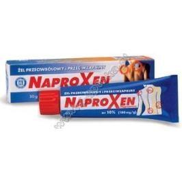 NAPROXEN 10% żel 50g