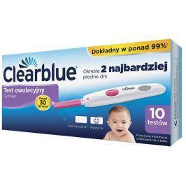 Clearblue Test owulacyjny x 10 sztuk