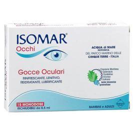 ISOMAR Occhi krople do oczu w ampułkach 0,5ml x 15 sztuk