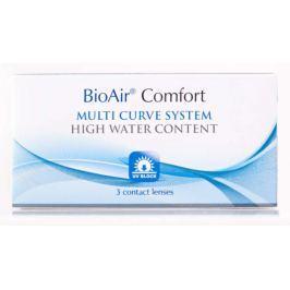 Soczewki kontaktowe BioAir Comfort (30-dniowe) x 3 sztuki
