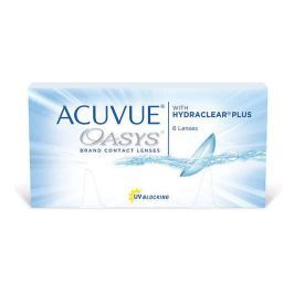 Soczewki kontaktowe Acuvue Oasys x 6 sztuk