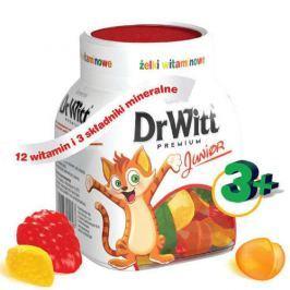 Dr Witt Premium Junior żelki witaminowe smak owocowy x 40 sztuk