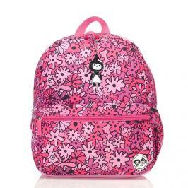 Plecak Zip&Zoe Junior - Floral Pink (5-9lat)