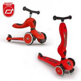 Highwaykick 2w1 jeździk i hulajnoga dla dzieci 1-5 lat - czerwona