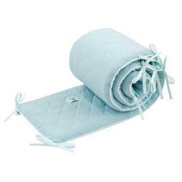 Ochraniacz 'połówka' do łóżeczka (210x30) Samiboo - miętowy